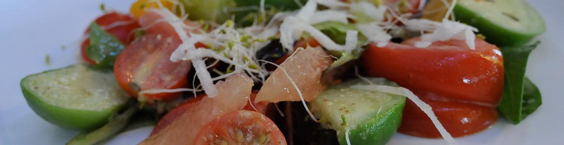 Tomato Salad Platypus & Gnome Downtown Wilmington NC